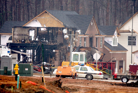 Investigators Cite Arson In Maryland Housing Blaze