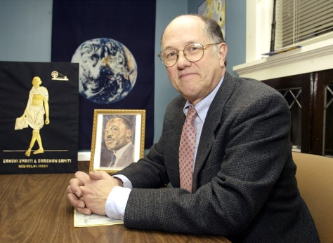 Image: Professor George Wolfe