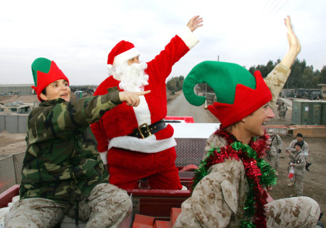 Tense Christmas celebrations in Iraq - News | NBC News