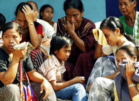 Image: Tsunami victims.