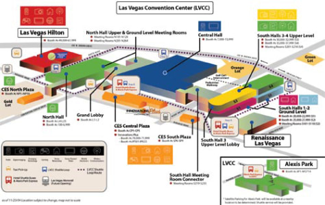 Las Vegas Convention Center Parking Map  Virginia Map