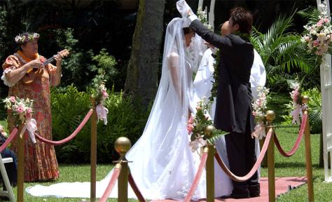 Hawaiin wedding