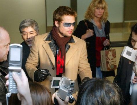 Image: Brad Pitt in Japan