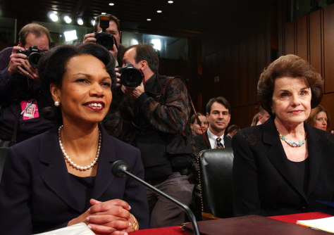 RICE AT SENATE HEARING