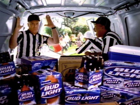 Image: Frame grab of Anheuser Busch commercial