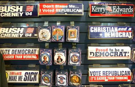 Divided Electorate Displays Political Preference