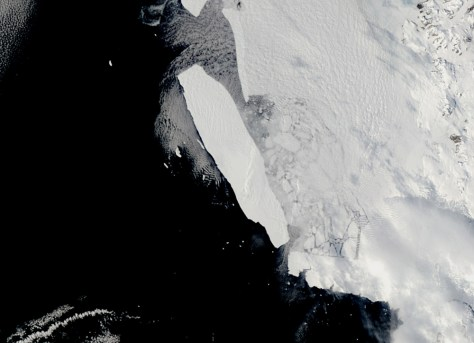 Image: Iceberg B-15A