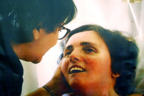 FILE PHOTO: TERRI SCHIAVO AND MOTHER