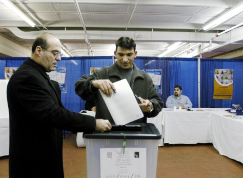 Iraqis Head To Polls in Maryland