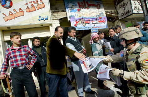 IMAGE: Election preparations in Mosul