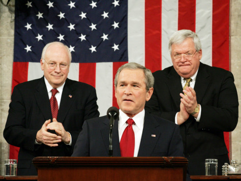PRESIDENT BUSH DELIVERS STATE OF THE UNION ADDRESS IN WASHINGTON