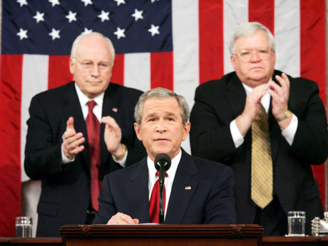 BUSH CHENEY HASTERT