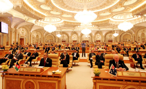 Image: Terrorism conference in Saudi Arabia.