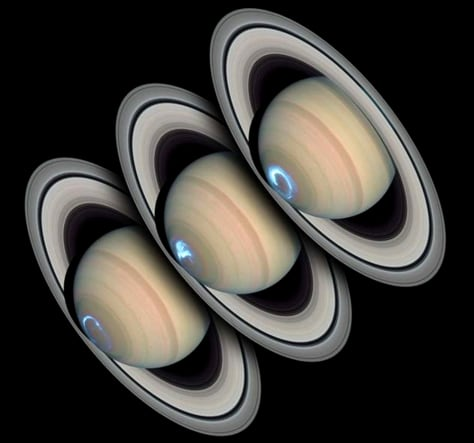 Saturn and polar auroral emissions