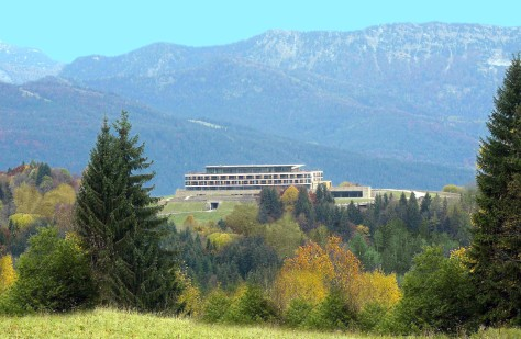 Image: Hotel built on the site of Hitler's Alpine hideaway.