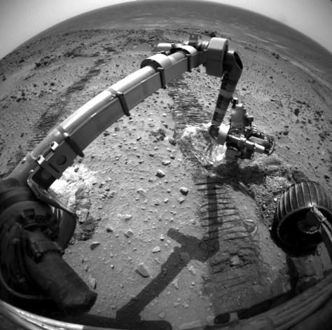 Image: Spirit rover
