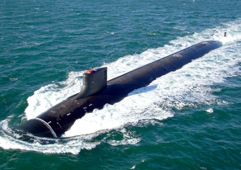 Image: Submarine.