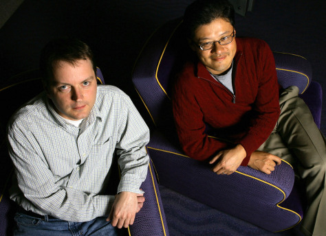 Image: Jerry Yang and David Filo