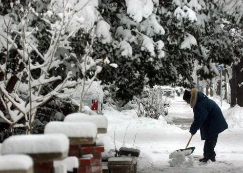 SNOW IN HARRISBURG