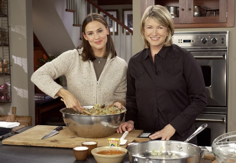 Image: Jennifer Garner and Martha Stewart