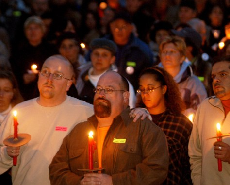 IMAGE: Vigil in Sante Fe