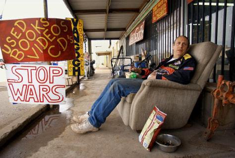 Image: Ricky Hutson in Van Horn