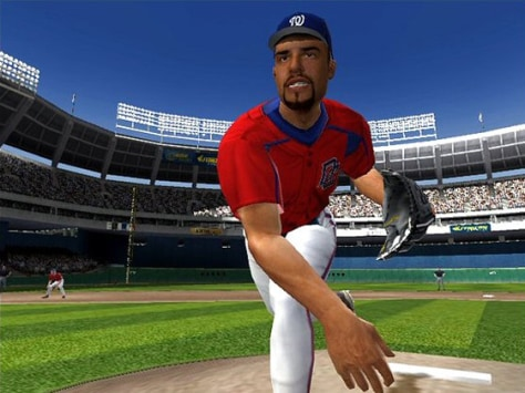 "screenshot from ""MVP Baseball 2005"""