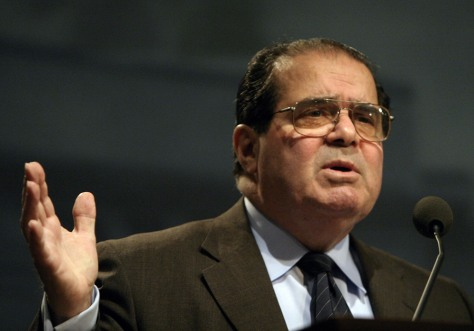 U.S. Supreme Court Justice Antonin Scalia speaks at the Ronald Reagan Building in Washington
