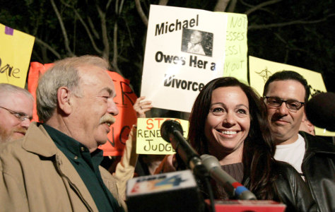 Image: Terri Schiavo's father and sister in Florida.