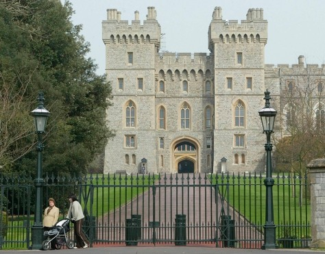 CAMBRIDGE GATES AT WINDSOR CASTLE