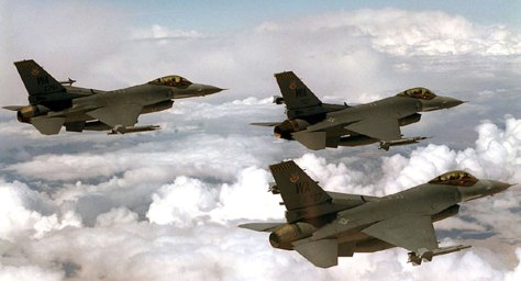 File photo of F-16s planes