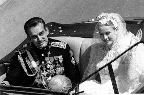 IMAGE: Grace Kelly and Prince Rainier