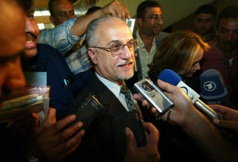 Image: Iraqi nuclear scientist Hussein al-Shahristani.