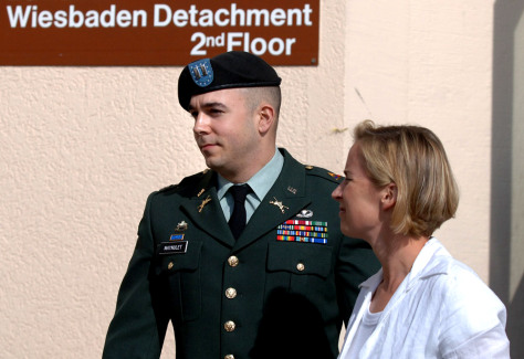 Image: U.S. Army Capt. Rogelio M. Maynulet and his wife.
