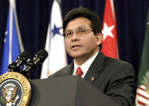Alberto Gonzales Sworn In As Attorney General