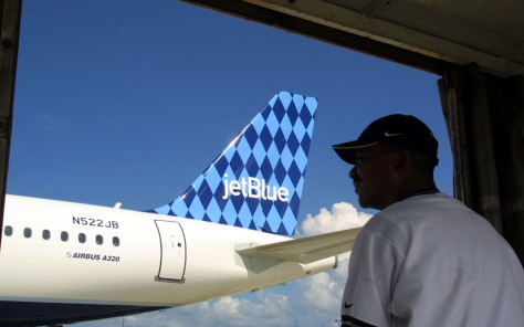 JetBlue Airlines in Ft. Lauderdale, Florida