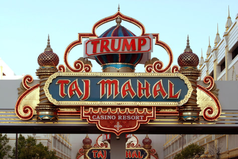 FILE PHOTO Trump Hotel And Casinos Nears Restructuring Deal