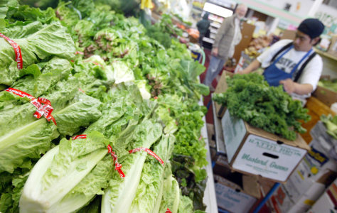 Traces of toxic chemical found in lettuce being sold in California