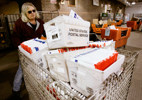 Post Office Deals With Busiest Mail Day Of The Year