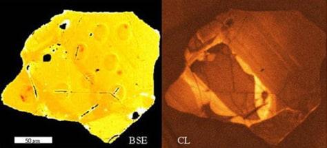 Image: Zircon crystal