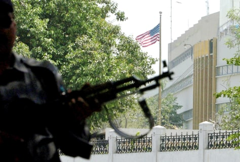 Image: U.S. consulate in Karachi