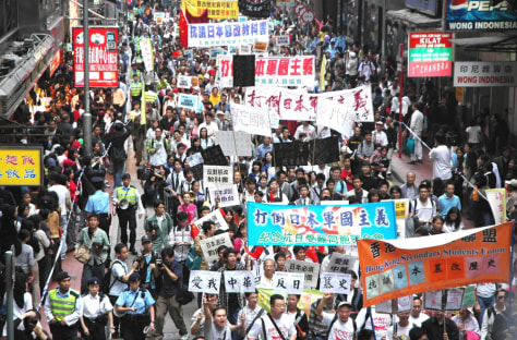 Image: Protest in Hong Kong