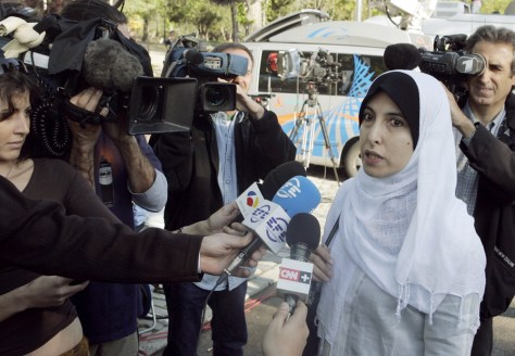 IMAGE: Wife of al-Qaida suspect