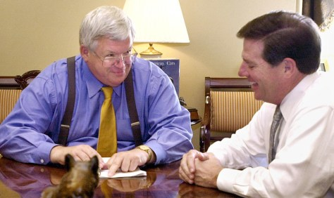 DELAY AND HASTERT