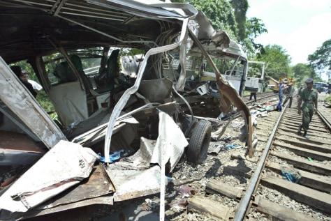 IMAGE: Sri Lanka collision