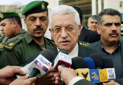 Image: Palestinian Authority President Mahmoud Abbas.