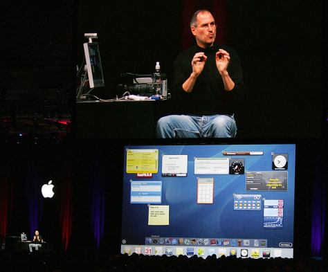 Image: Steve Jobs at MacWorld.
