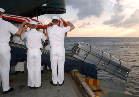 Pentagon Releases Photos Showing U.S. Casualties