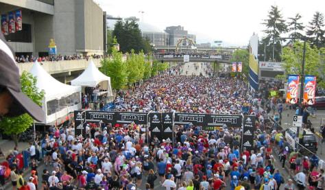 Image: Marathon start