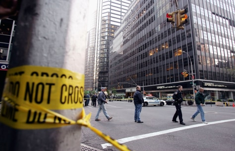 Bomb Explodes Outside British Consulat in New York City